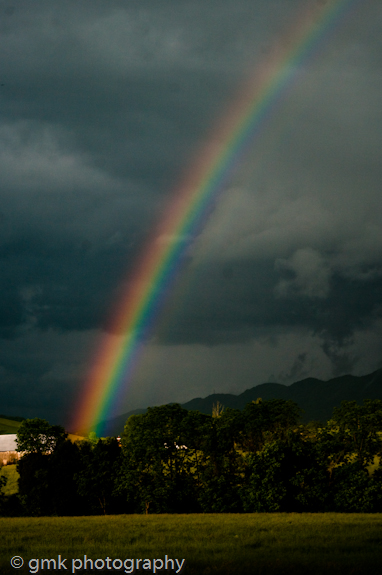 without rain, there can be no rainbow