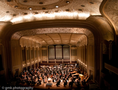 The Cleveland Orchestra performing Mahler's First at Severence Hall